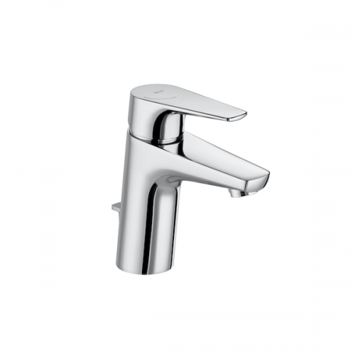 Roca Atlas Chrome Single Lever Basin Mixer With Pop Up Waste-0
