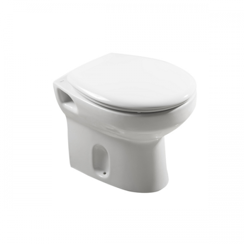 Buy Roca Laura 495mm Projection Back To Wall Pan and Seat-0
