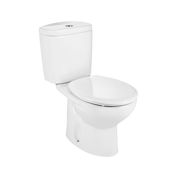 Buy Roca Laura 665mm Projection Close Coupled Eco Toilet-0