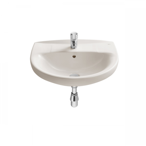 Buy Roca Laura 520 x 410mm Wall Mounted Tap Hole Basin-19042