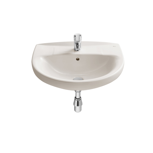 Buy Roca Laura 560 x 460mm Wall Mounted Tap Hole Basin-19046