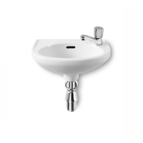 Buy Roca Laura Cloakroom Right Hand 350mm 1 Tap Hole Basin-0