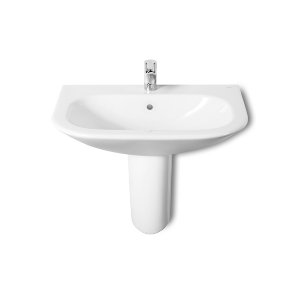 Roca Nexo Wall Mounted 550 x 440mm 1 tap hole basin-18955