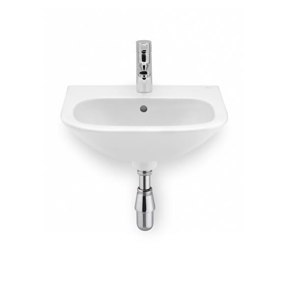 Roca Nexo Cloakroom 450 x 365mm Right Hand 1 Tap Hole Basin-0