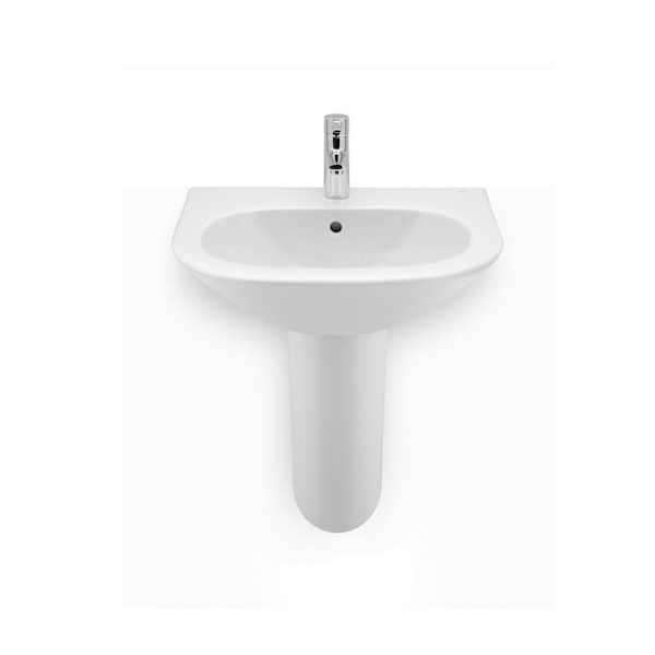 Roca Nexo Wall Mounted 550 x 440mm 1 tap hole basin-18958