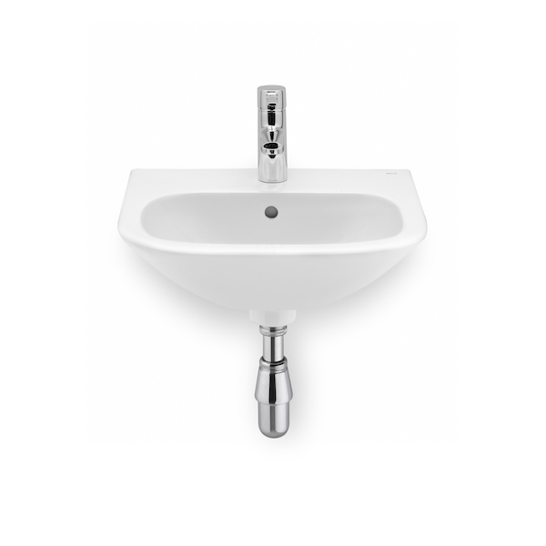 Roca Nexo Wall Mounted 550 x 440mm 1 tap hole basin-0