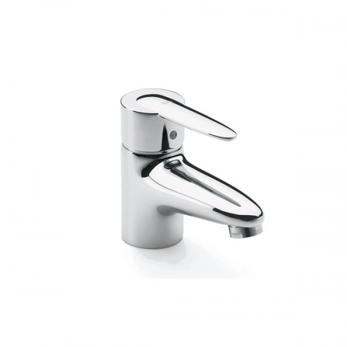 Roca Vectra Chrome Mono Basin Mixer With Pop Up Waste-0