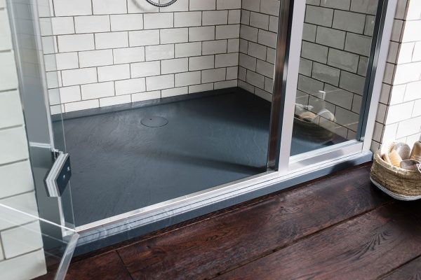 Simpsons 1200mm x 760mm Grey Slate Anti-Slip Shower Tray GY0R71200