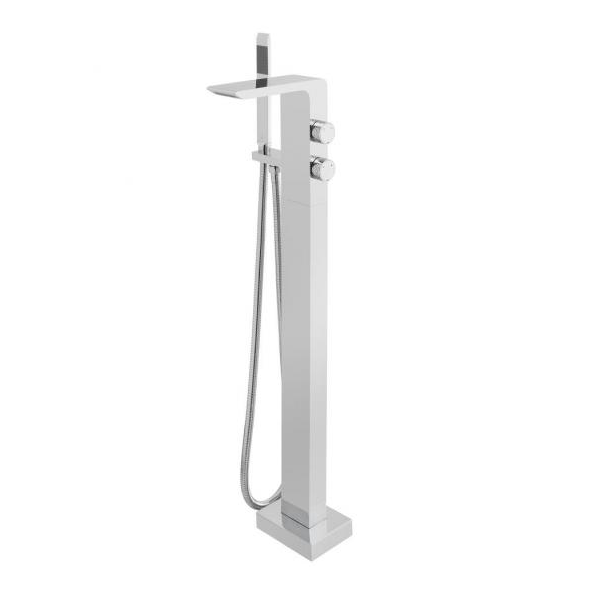 Vado Omika Chrome Floor standing Bath Shower Mixer-0