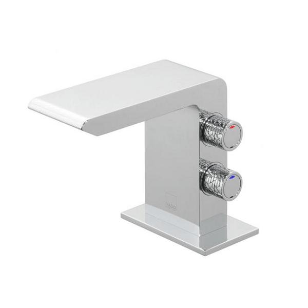 Vado Omika Chrome Smooth Bodied Mini Basin Mixer With No Waste-0
