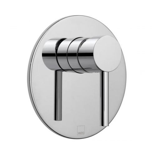 Vado Zoo Chrome Single Lever Concealed Manual Shower Valve-0