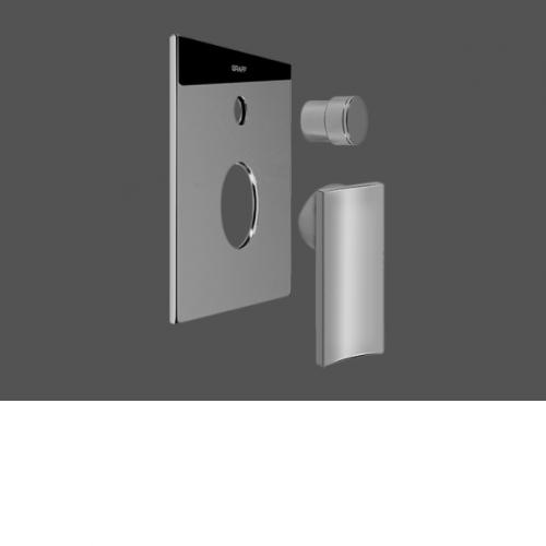 "Graff Luna 1/2"" Concealed Shower Mixer with Diverter - Exposed Parts"