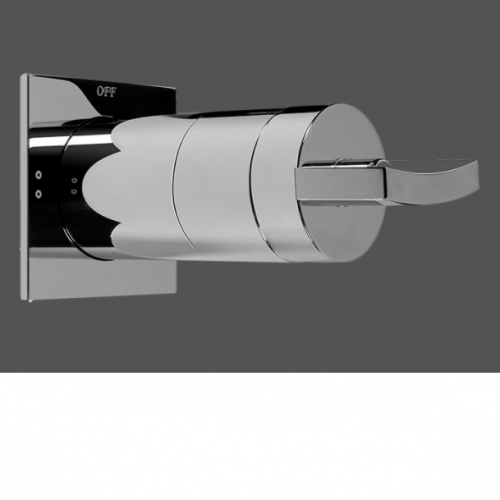 "Graff Luna 1/2"" Concealed Diverter with 2 Outlets - Exposed Parts"