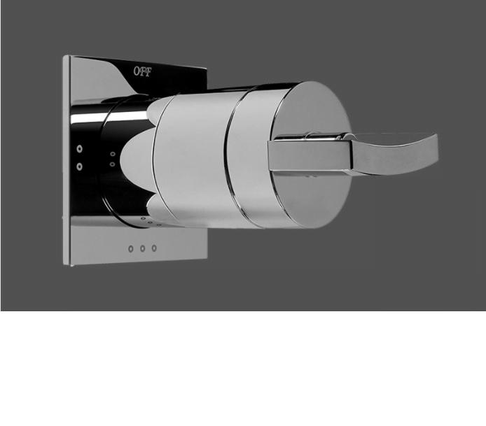 "Graff Luna 1/2"" Concealed Diverter with 3 Outlets - Exposed Parts"