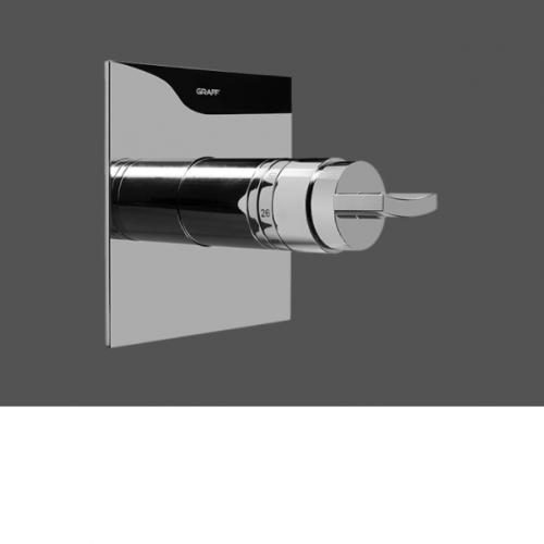 "Graff Luna 1/2"" Concealed Thermostatic Valve - Exposed Parts"