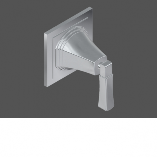 Graff Finezza Uno Polished Chrome American Made 3/4 Concealed Cut Off Valve - Exposed Parts