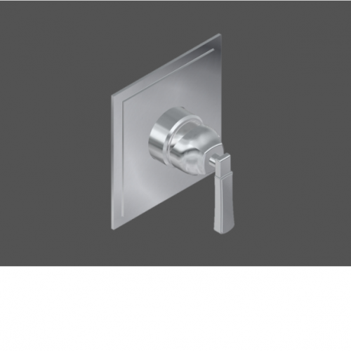 """Graff Finezza Uno Polished Chrome American Made 1/2"""" Concealed Shower Mixer - Exposed Parts In London"""