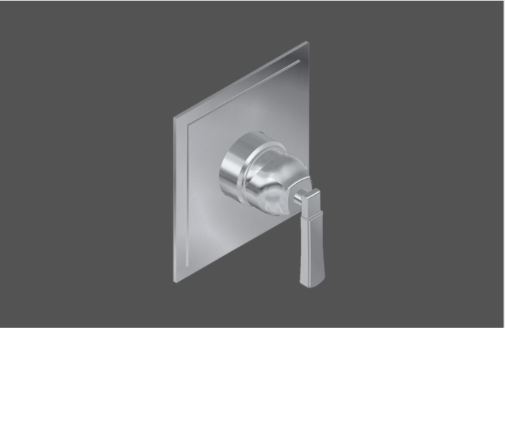 "Graff Finezza Uno Polished Chrome American Made 1/2"" Concealed Shower Mixer - Exposed Parts In London"