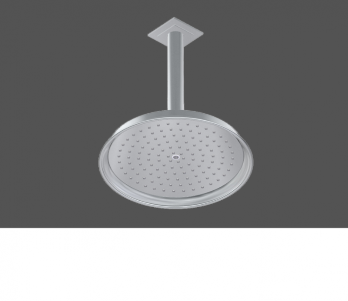Graff Finezza Uno Polished Chrome American Made Shower Head and Arm - Complete Set In London 5163300