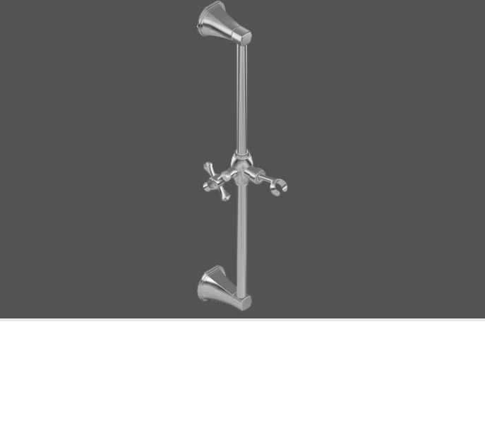 Graff Finezza Uno Polished Chrome Wall Bracket for Hand Shower 5167300