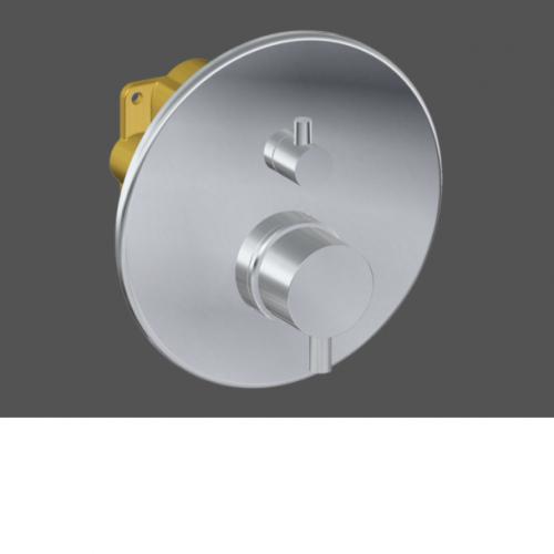 "Graff Me Unibox 3/4"" Conc Thermo & Cut Of Valve Trim Kit 5185200BK"