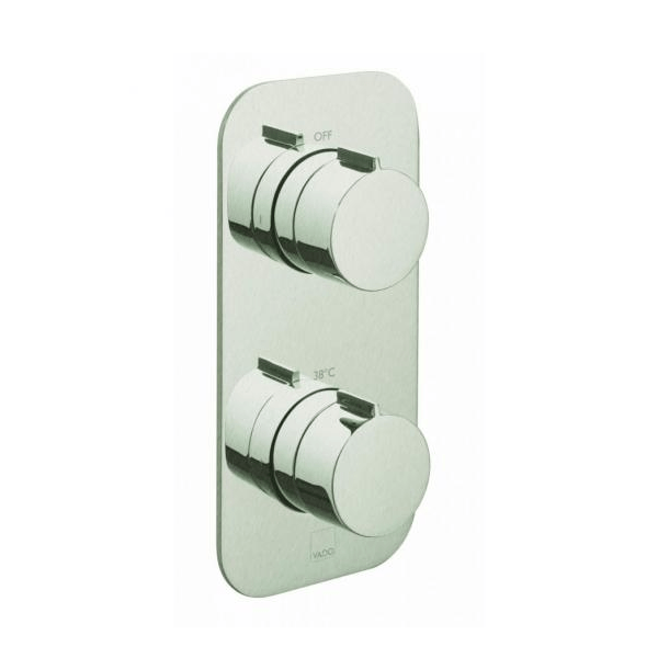 Vado Altitude Tablet 2 Outlet 2 Handle Thermostatic Valve-21759