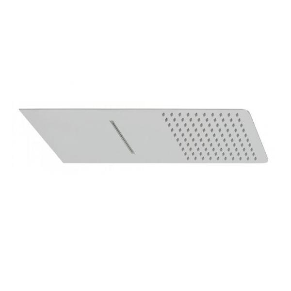 Vado Aquablade 2 Function Square Wall Mounted Shower Head-0