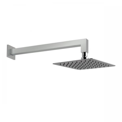 Vado Aquablade 300mm Wall Mounted Square Head and Arm-0
