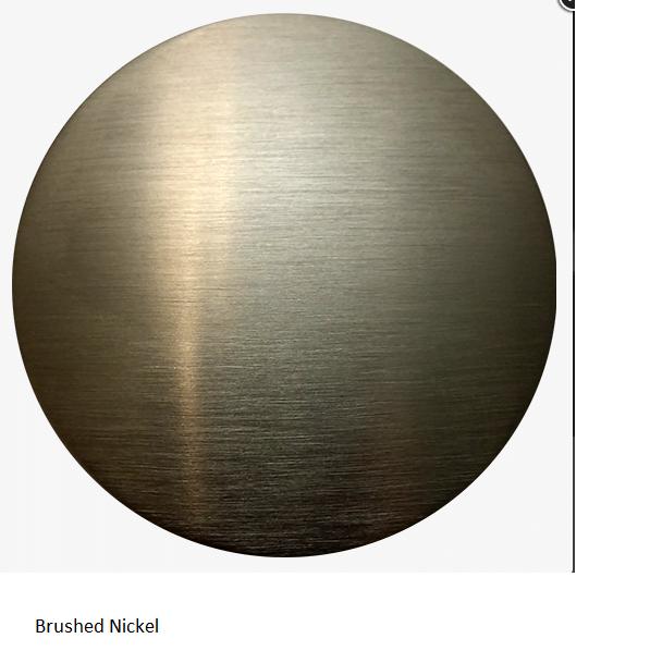 Brushed Nickel