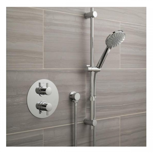 Vado Celsius Single Outlet Shower Valve With Slide Rail Kit-21552