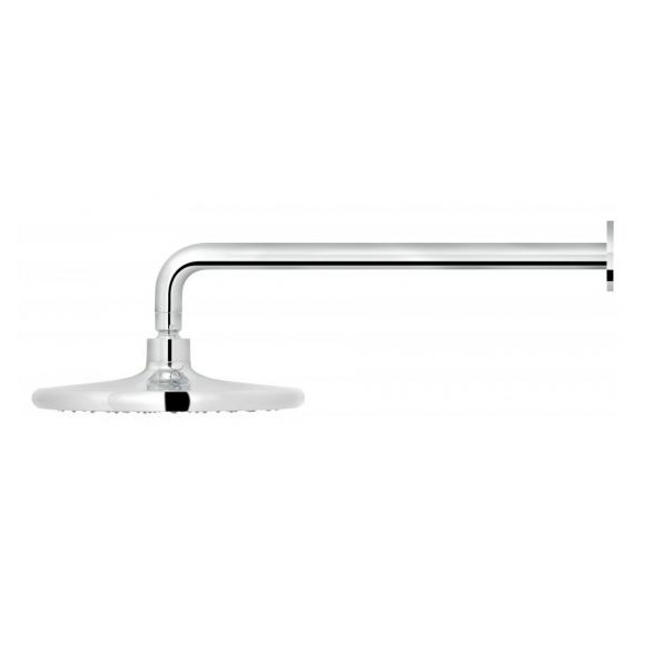 Vado Ceres Chrome 235mm Shower Head And Wall Mounted Arm-20745