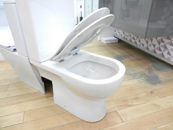 Ex Display Saneux Austen Close Coupled Left Hand Soil Exit Toilet -20883