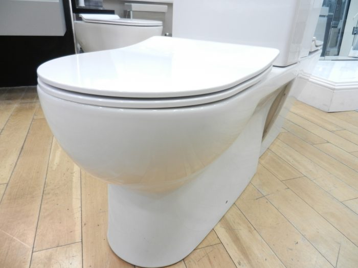 Ex Display Saneux Austen Close Coupled Left Hand Soil Exit Toilet -20884