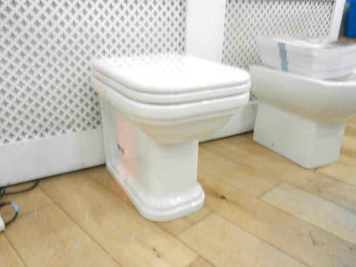 Ex Display Bauhaus Waldorf Back To Wall 55 WC & Seat-20926