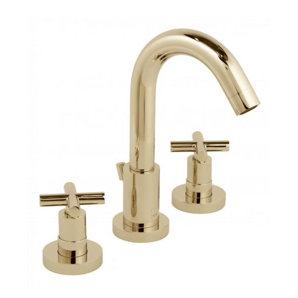 Vado Elements Water 3 Hole Deck Mounted Mono Basin Mixer-21704