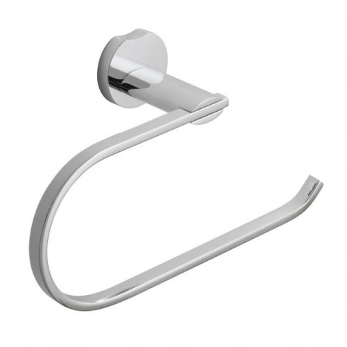 Vado Kovera Chrome Wall Mounted Open Towel Ring-0