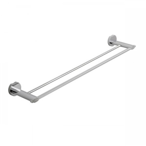 Vado Kovera Wall Mounted 500mm Chrome Double Towel Rail-0