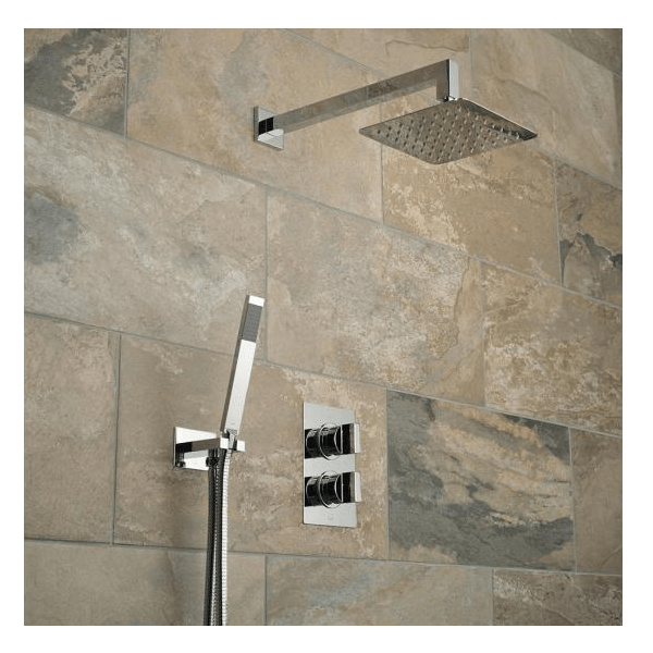 Vado Notion 2 Outlet Shower Valve With Fixed Head & Shower Kit-21482