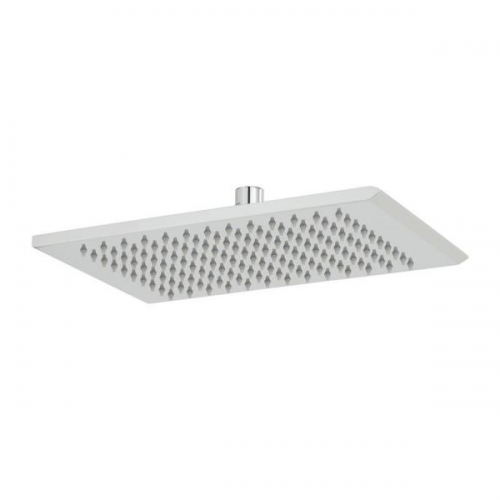 Vado Omika Chrome 200 x 300mm Rectangular Shower Head-0