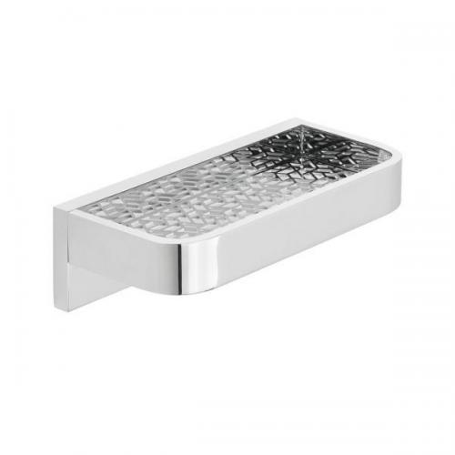 Vado Omika Chrome Wall Mounted 200mm Bathroom Shelf-0
