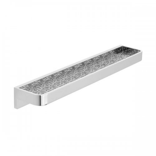 Vado Omika Chrome Wall Mounted 500mm Bathroom Shelf-0