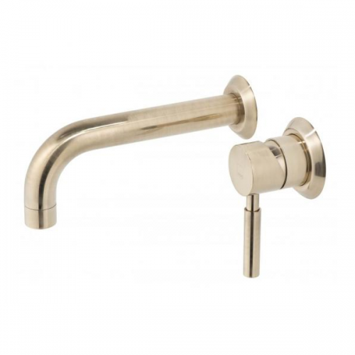 Vado Origins Wall Mounted Single Lever 2 Hole Basin Mixer-0