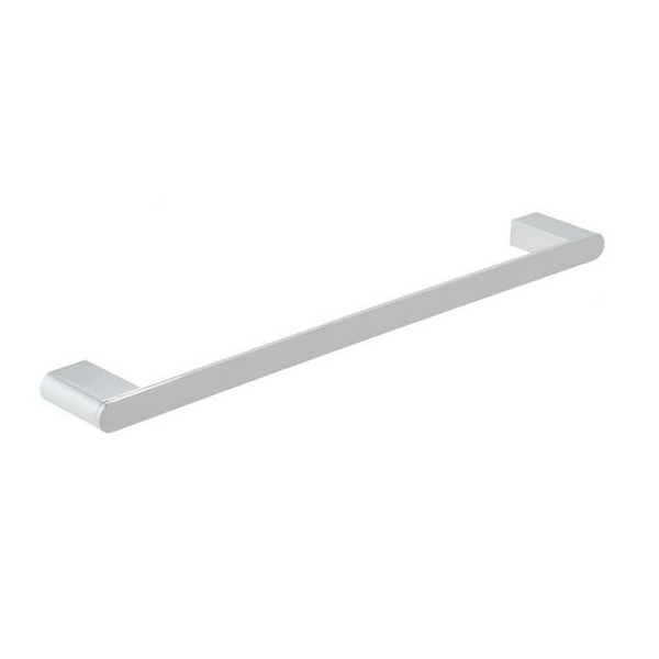 Vado Photon Wall Mounted Chrome 450mm Single Towel Rail-0