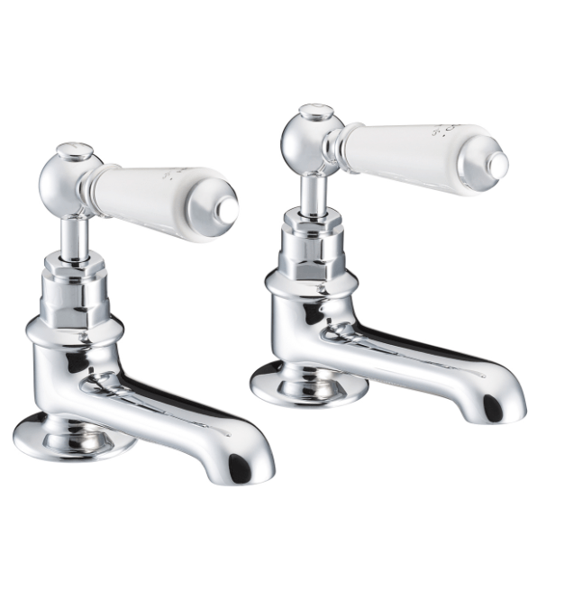 St James Collection London Lever Basin Taps SJ150-CP-LL