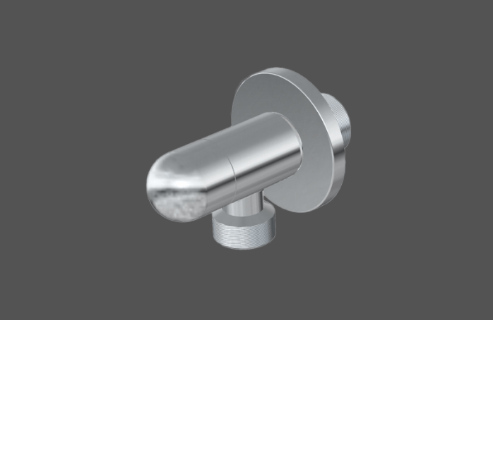 Graff Finezza Uno Polished Chrome Angle Valve 5134850
