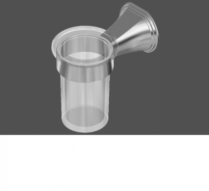 Graff Finezza Uno Polished Chrome Tumbler Holder
