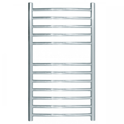 JIS Camber Curved Stainless Steel 700x400mm Heated Towel Rail-0