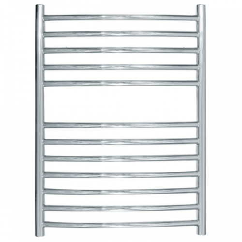 JIS Camber Curved Stainless Steel 700x520 Heated Towel Rail-0