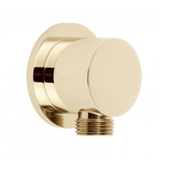 Vado Elements Wall Mounted Round Wall Outlet Only-21925