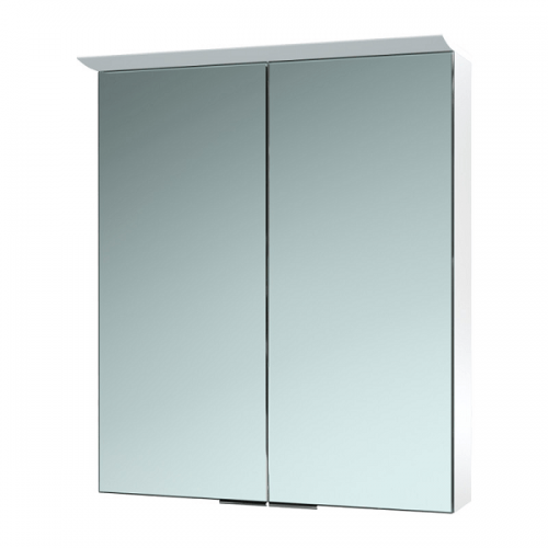 Saneux Glacier 600x700mm Wall Mounted Mirrored Cabinet-0